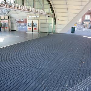 Gallerdurk – Entrégaller Triangeln, Citytunneln, Malmö.