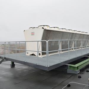 Gallerdurk – Gallerdurk och stormodulräcke till entresolplan. Filbornaverket